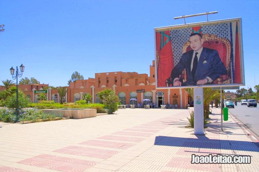 Praça 3 de Março em Ouarzazate