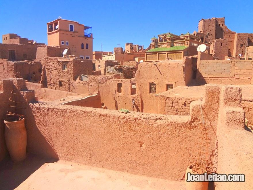 Bairro Taourirt em Ouarzazate