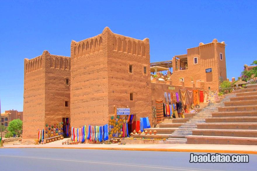 Torres de Taourirt em Ouarzazate