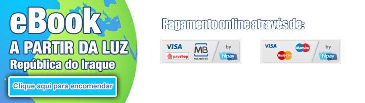 eBook de viagens encomenda e pagamento