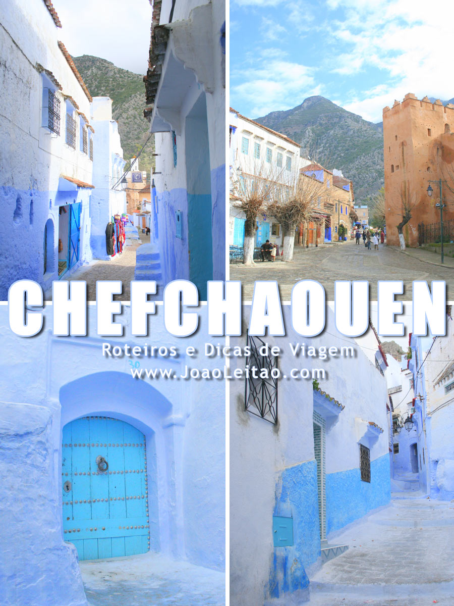 Chefchaouen a cidade Azul de Marrocos