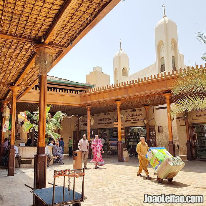 Souk antigo de Deira no Dubai