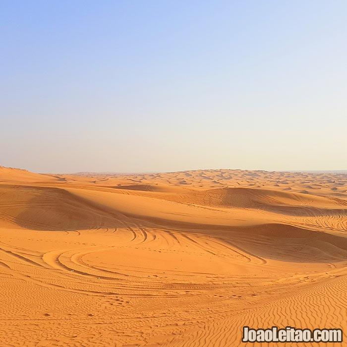 Deserto do Dubai