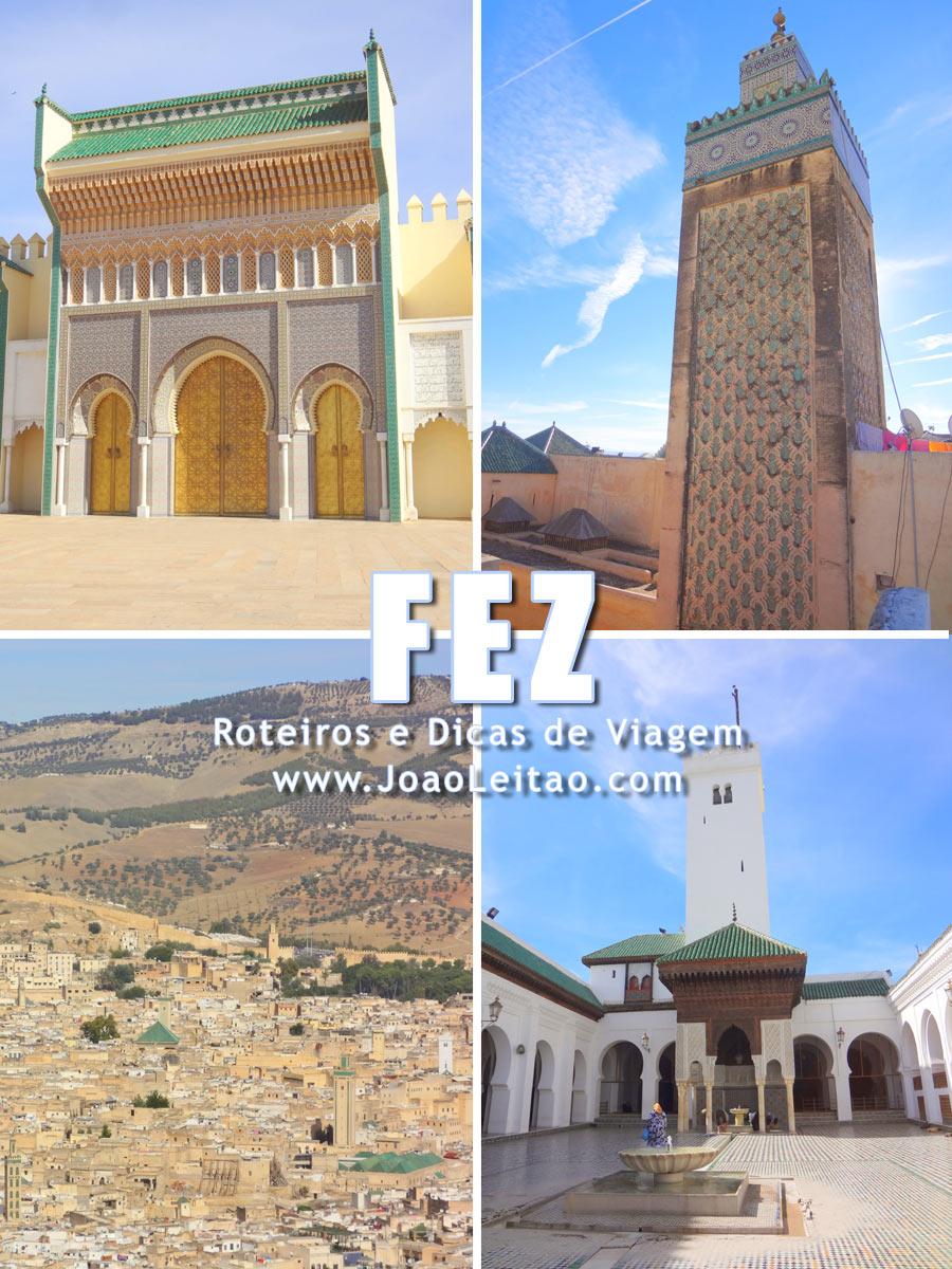 Medina Antiga de Fez Marrocos