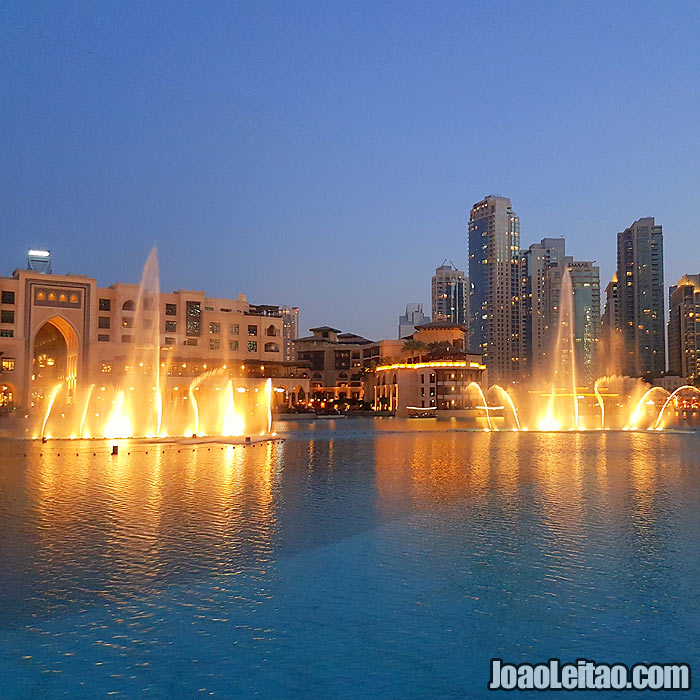 Fonte do Dubai