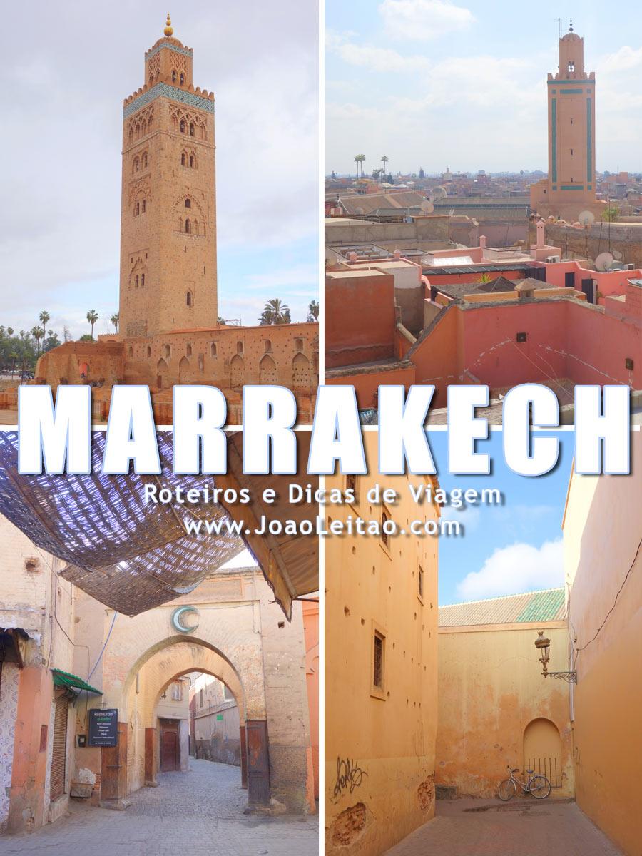 Medina Antiga de Marrakech
