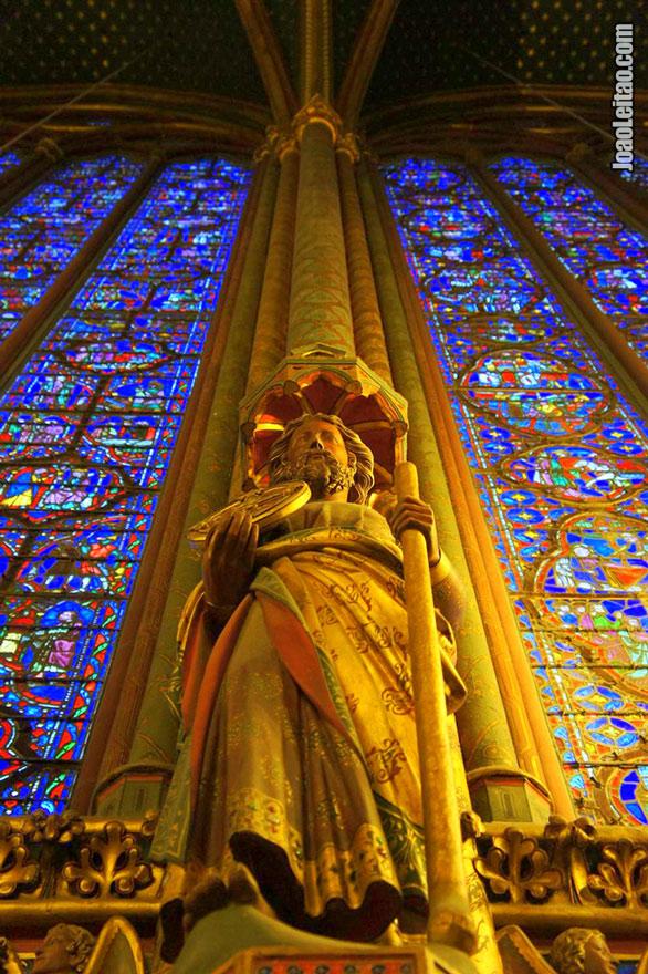 La Sainte-Chapelle em Paris