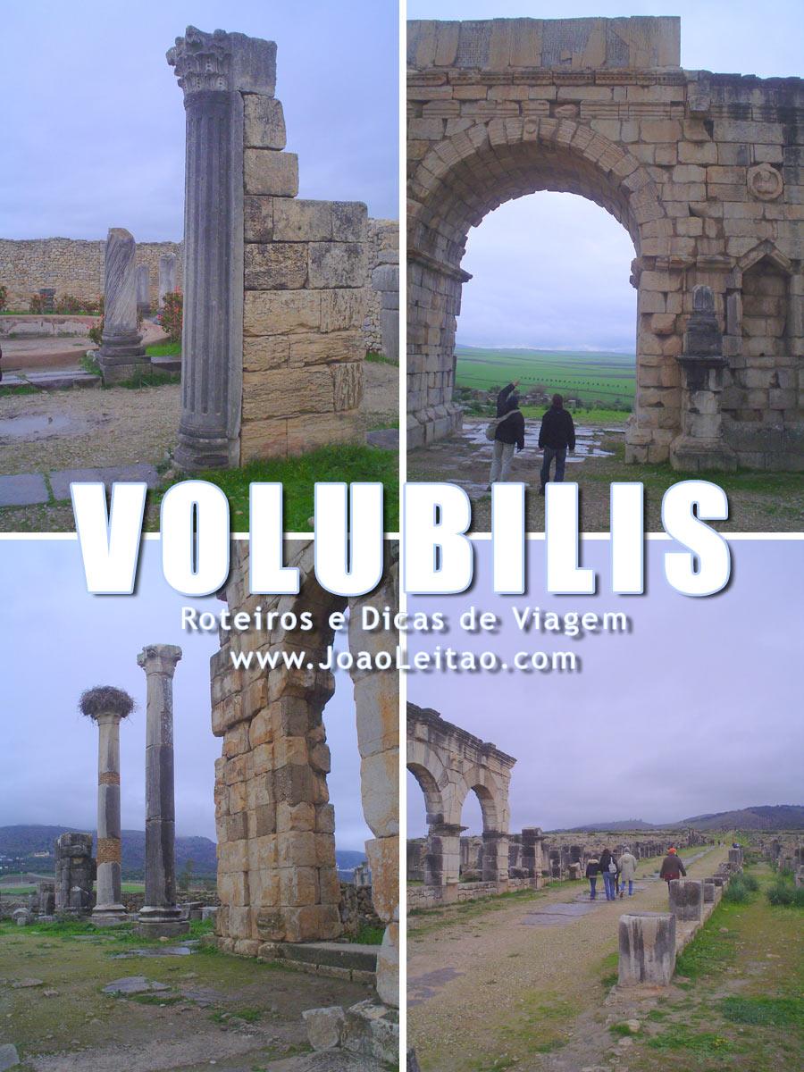 Ruínas Romanas de Volubilis