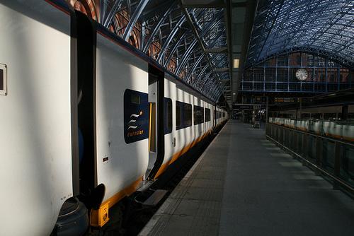 Comboio  / trem Londres até Paris e Bruxelas, Eurostar