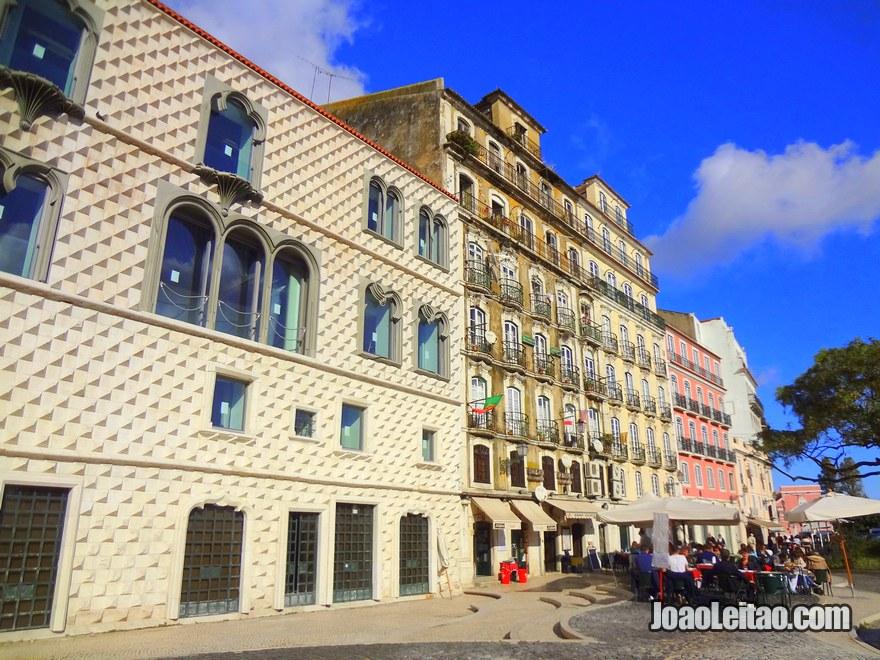 Foto da Casa dos Bicos em Lisboa