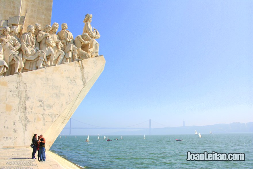 Foto do Padrão dos Descobrimentos em Lisboa