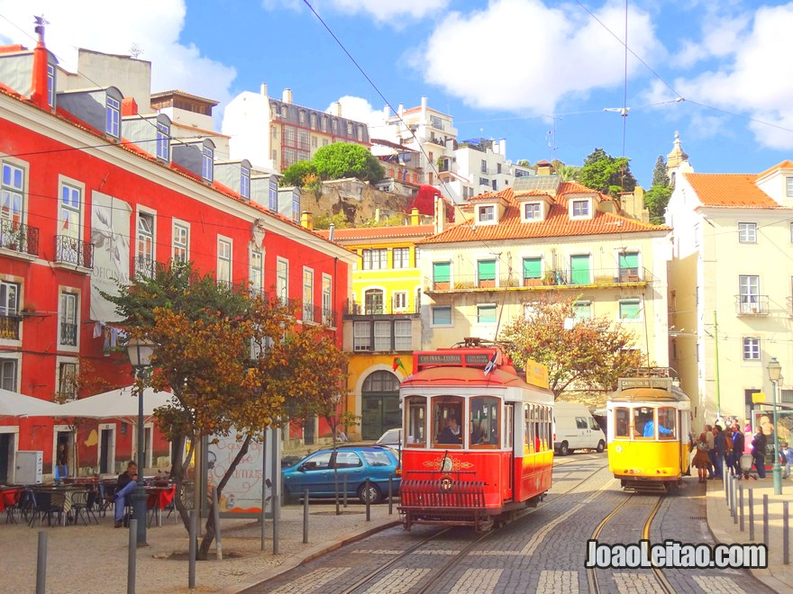Foto do Largo das Portas Do Sol em Lisboa