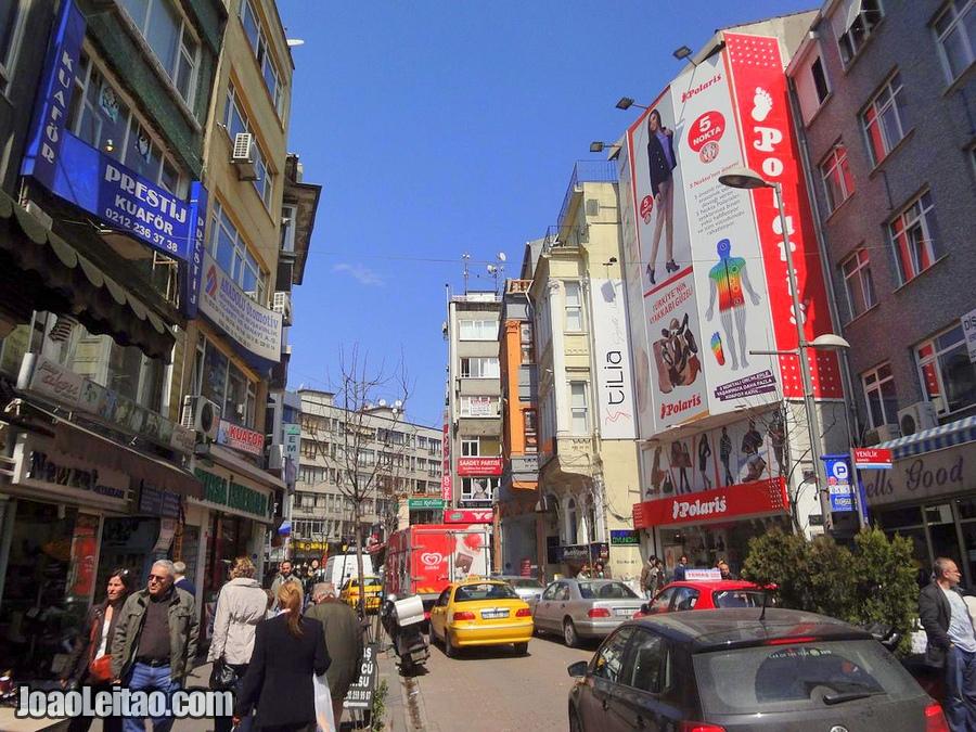 Aprender Turco - rua na Turquia