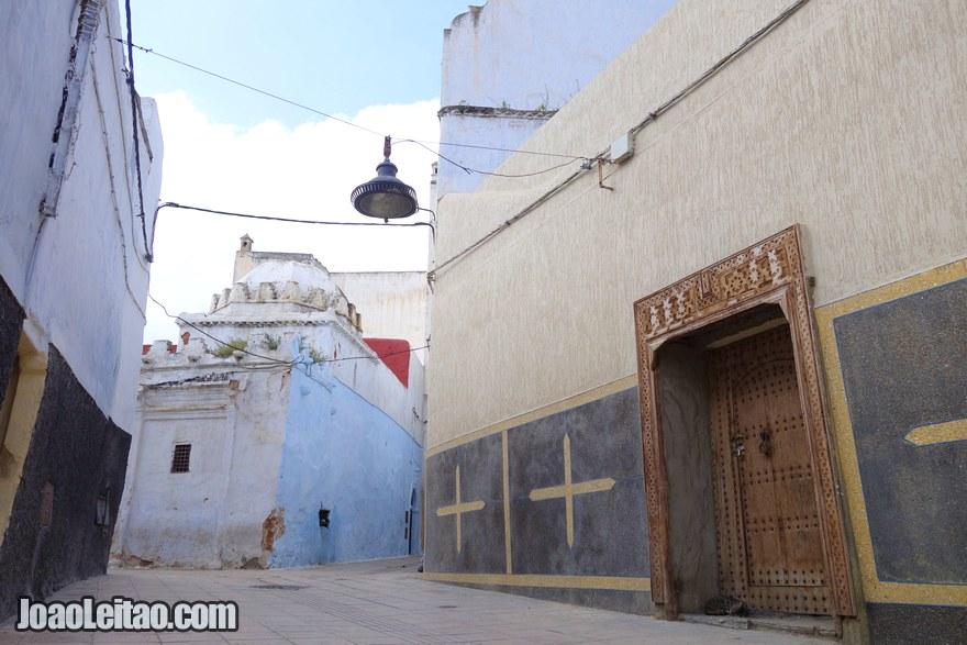 Foto da Medina antiga de Rabat
