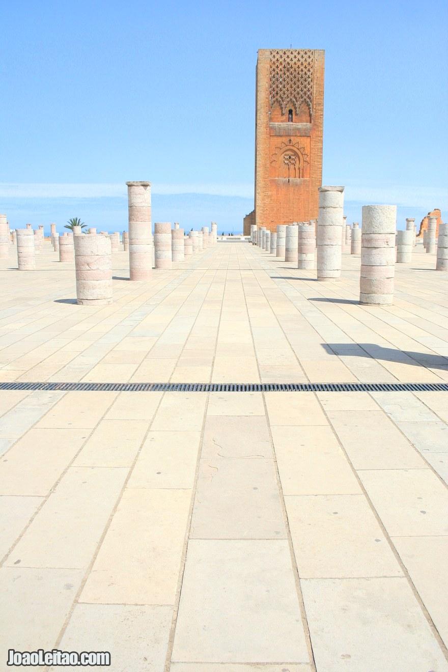 Foto da Torre Hassan