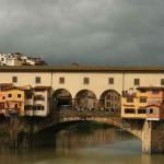 Fotografias da Ponte Vecchi em Florença, Itália