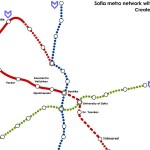 Mapa Metro Sofia