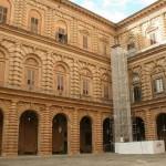 Fotografias do Palazzo Pitti em Florença, Itália