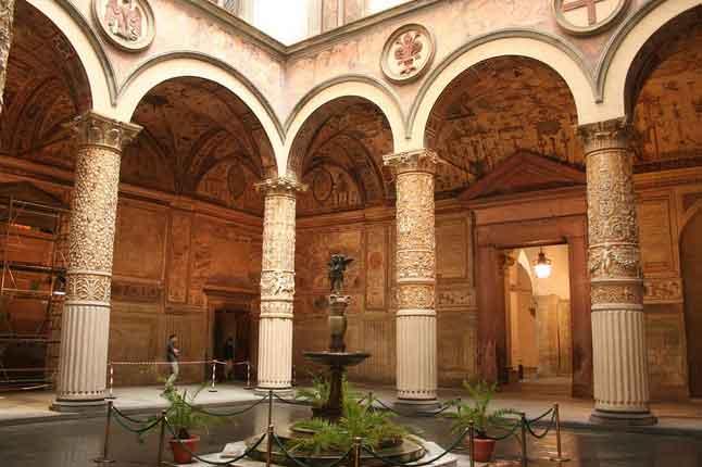 Palazzo Vecchi em Florença Itália