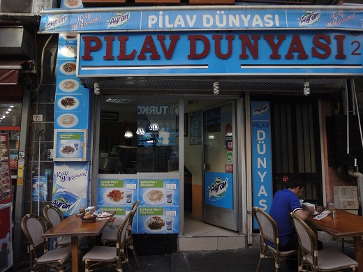 Restaurante Pilav Dunyasi em Istambul