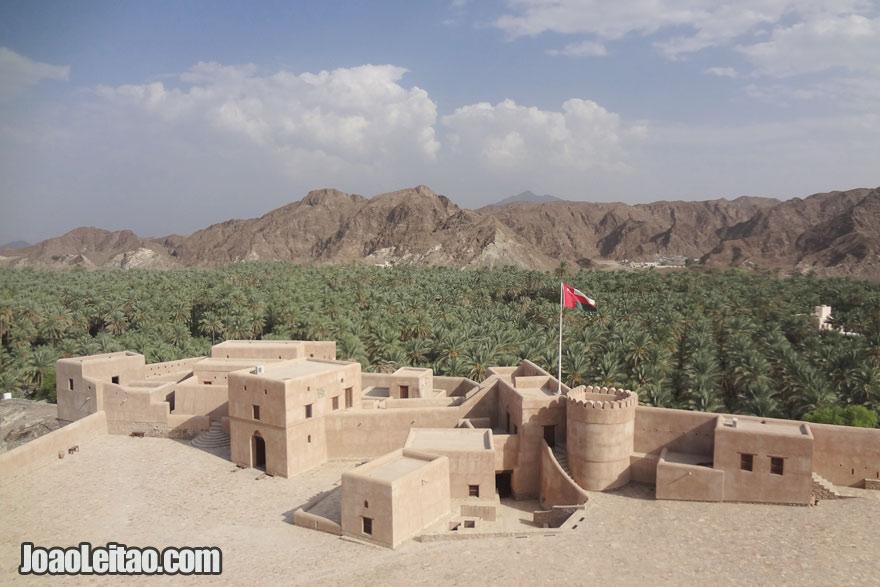 Castelo Hosn em Samail, Visitar Omã