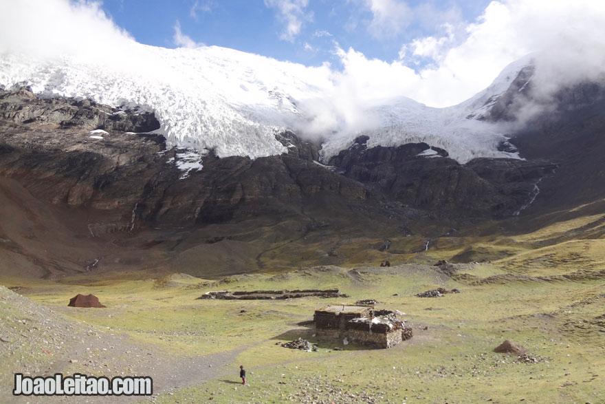 Glaciar Kharola a 5560m, Visitar o Tibete