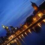 Monumentos e Arranha Céus em Frankfurt Alemanha