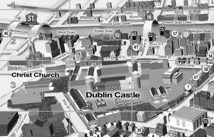 Monumentos em Dublin