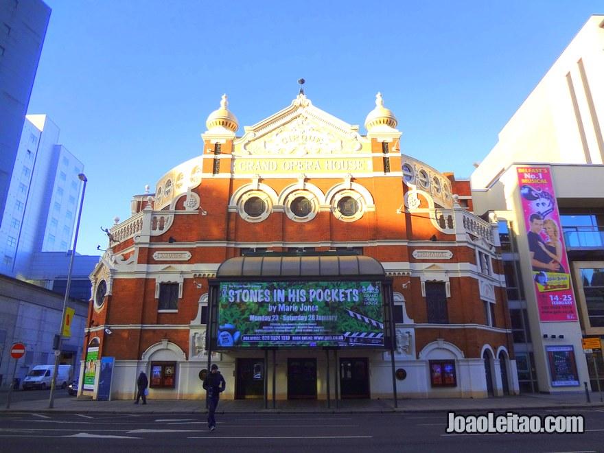 Foto da Grand Opera House em Dublin