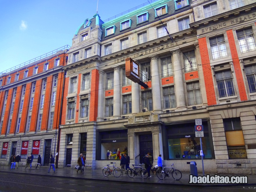Foto do edifício do jornal The Sunday Independent