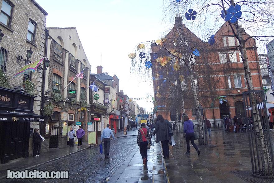 Centro de Dublin, Visitar a Irlanda