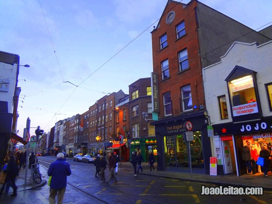 Foto da rua Wicklow Street
