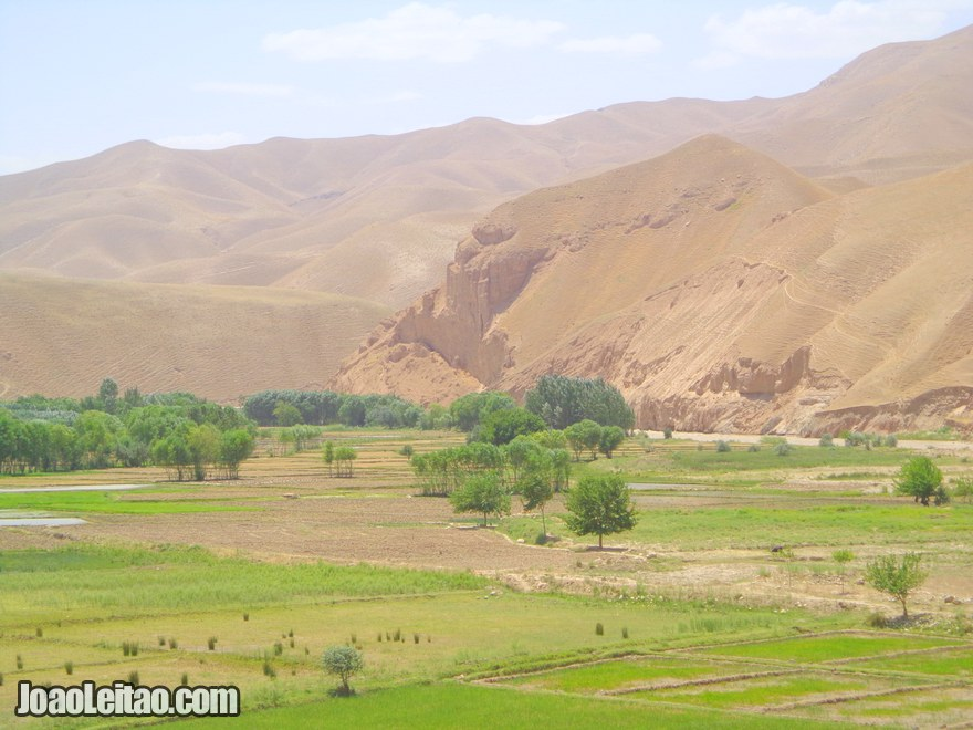 Montanhas na estrada que liga Baghlan a Pul-e Khomri - Viagem no Afeganistão