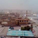 Vídeo do Muezzin chamada em Erbil, Região do Curdistão, Iraque
