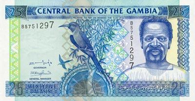 Moeda da Gambia