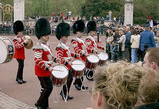 Render da Guarda Palácio de Buckingham