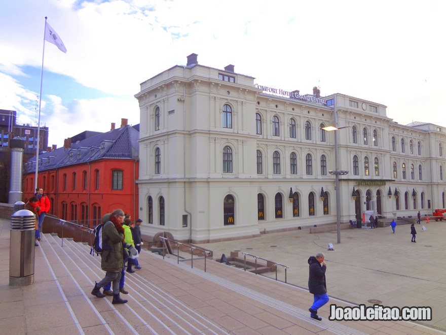 Foto do Centro de Oslo