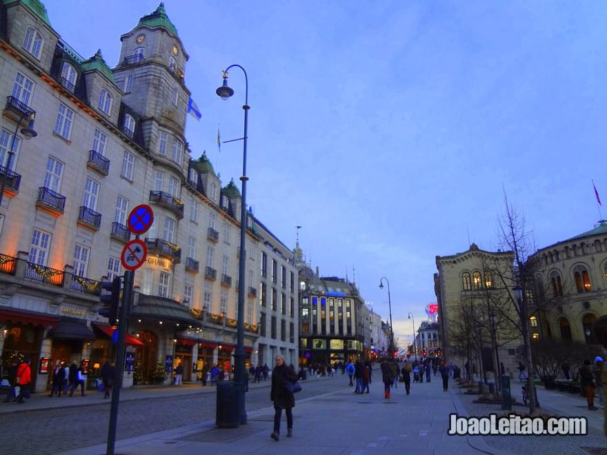 Foto do Grand Hotel em Oslo