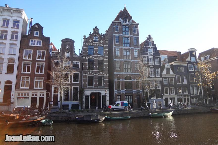 Canais de Amsterdão, Visitar a Holanda