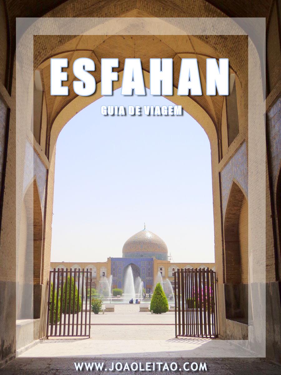 VISITAR ESFAHAN
