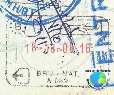 Stamp Belgium (airplane)