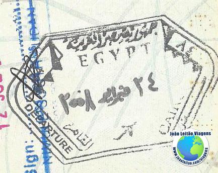Carimbo Egipto
