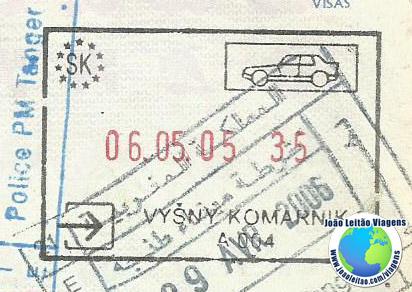Stamp Slovakia (car)