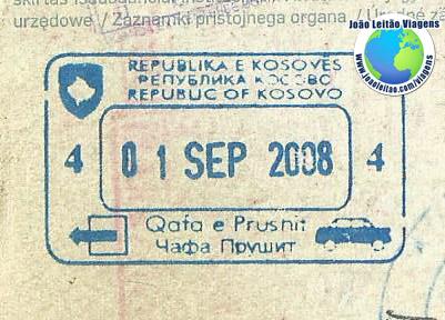 Stamp Kosovo (carro)