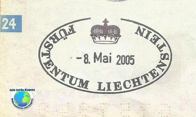 Carimbo Liechtenstein
