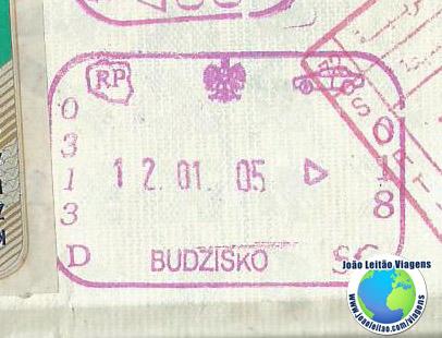 Stamp Poland Map Model (car)
