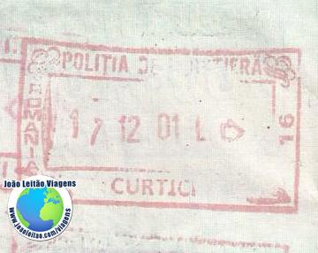 Carimbo Romenia (comboio)