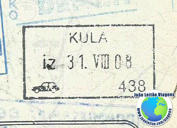 Stamp Serbia (car)