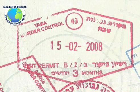 Carimbo Israel