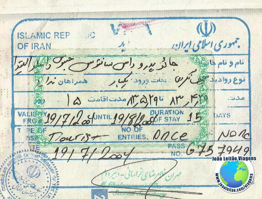 Visa Iran (embassy in Almaty)